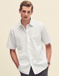 Men´s Short Sleeve Poplin Shirt